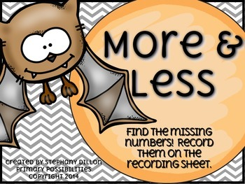 More or Less Freebie with Bats!