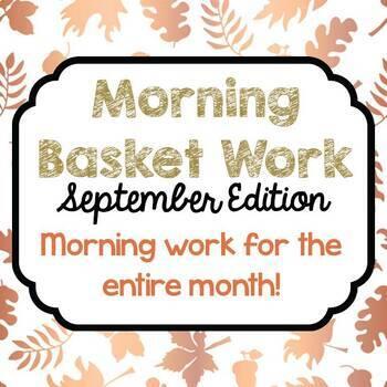 Morning Basket Work {September}