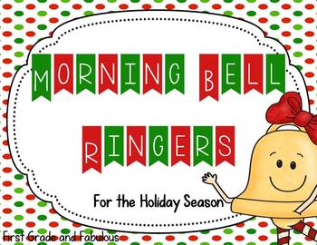 Morning Bell Ringers for the Holiday Season
