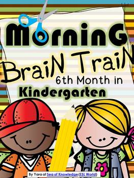 Morning Work - Math & Literacy {Morning Brain Train 6th Mo