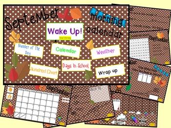 Morning Calendar- September