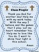 Morning Class Prayer