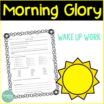 Morning Glory: Wake Up Work