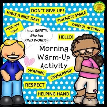 Morning Greeting Warm-Up Activity