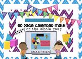 Calendar Math for the SMARTBoard ~ Attendance, Math, and C