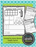 Morning Math Minute Quick Math Activities for the Primary