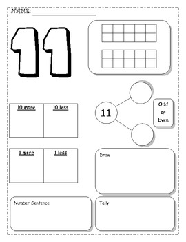 Morning Math Review  - 50 Pages!