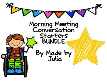 Morning Meeting Bundle!