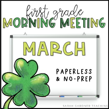 Morning Meeting Messages - March