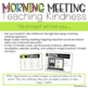Morning Meeting: Teaching Kindness