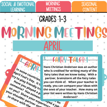 Morning Meetings: April