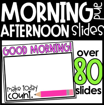 Editable Morning Message Templates