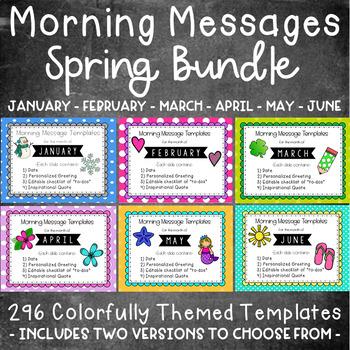 Morning Message January - May Bundle