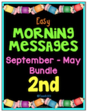 2nd Grade Morning Messages September - May