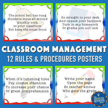 Morning Procedures Posters