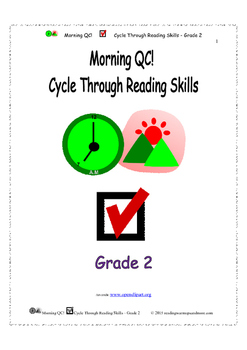 Morning QC! Cycle Through Reading Skills - Grade 2