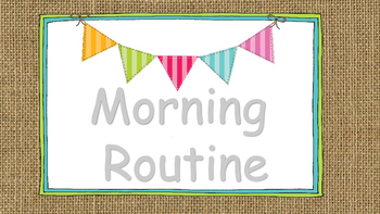 Morning Routine Banner