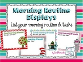 Morning Routine Display [Editable] for PowerPoint