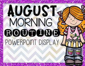 Morning Routine PowerPoint (Editable)