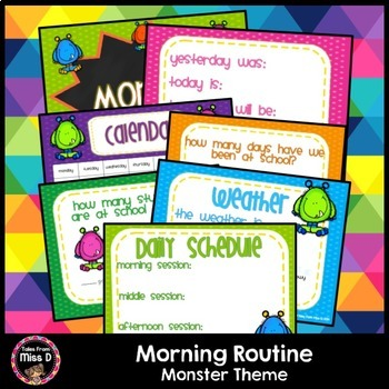Morning Routine Monster