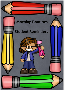 Morning Routines Reminder Cards