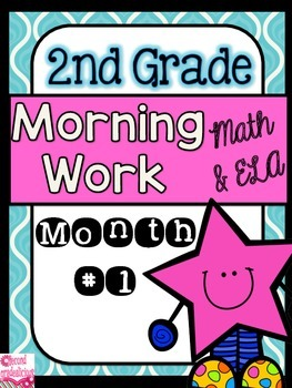 Free Morning Work for 2nd Grade