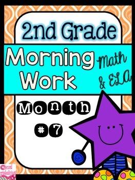 2nd Grade Morning Work Math and ELA