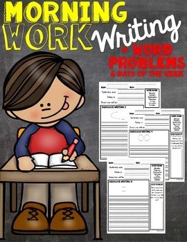 Morning Work Writing