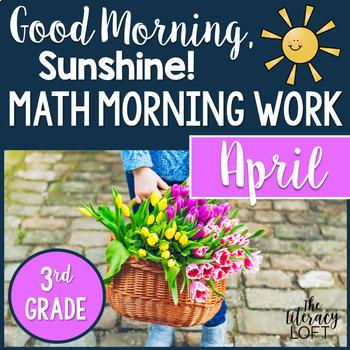 Morning Work 3rd Grade {April}