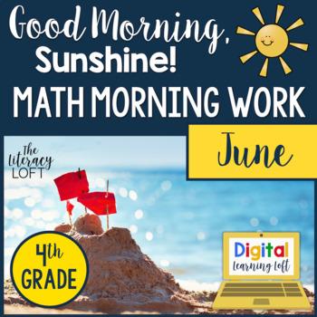 Morning Work 4th Grade {June}