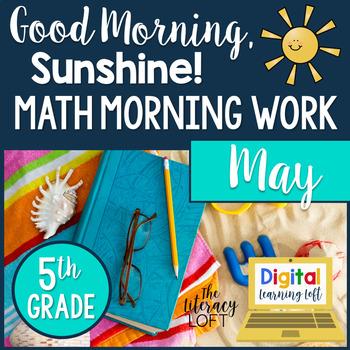 Morning Work 5th Grade {May}