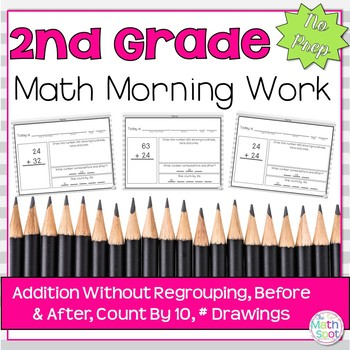Morning Work: Addition w/out Regrouping, Before & After, C
