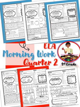 Morning Work- ELA and Reading Skills Review 2nd Qtr