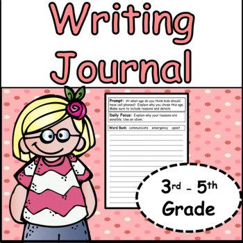 Morning Work Writing Journals Bundle (10 Months)