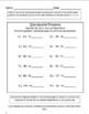 4th Grade Morning Work Math and ELA-SET 2