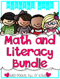 Morning Work Math and Literacy Bundle