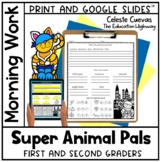 Morning Work Super Hero Buddies