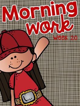 Morning Work Week 20