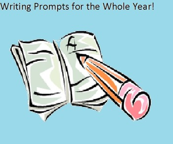 Morning Work Writing Prompts for the ENTIRE YEAR!