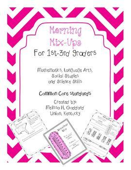 Morning Work for Busy Teachers 1st-3rd Grade