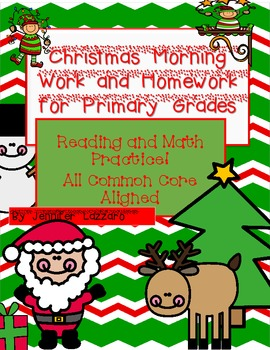 Morning Work for *Christmas* 24 Pages!!! Primary Common Co