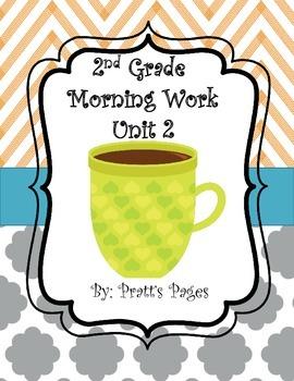 Journey's Unit 2 Morning Work Second Grade