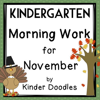 Morning Work for November