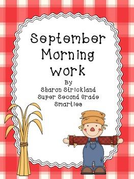Morning Work for September