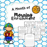 Morning Work for a Month - 2nd Grade