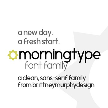 Morningtype Font Family for Commercial Use
