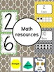 Moroccan Tile Classroom Decor and Organization Pack