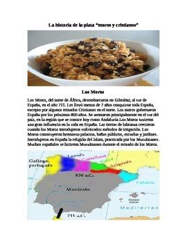 Moros y Crisitanos/ Arroz con frijoles negros- History of