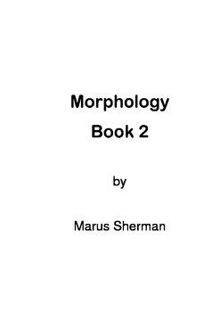 Morphology Book 2
