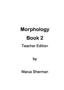 Morphology Book 2 Teacher Edition